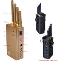 Advanced cell phone and gps signal jammer blocker - handheld cell phone signal jammer