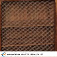 Quality Wire Mesh Grille Inserts| Press Crimp Weave by Cold Rolled Steel wholesale