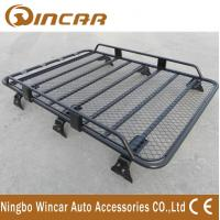 Cheap Removable Half Frame Luggage Rack For Suv , Roof Rack Carrier Gutter Mount for sale