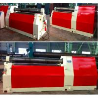 Quality Heavy Duty Steel Sheet Bending Machine , Universal 4 Roll Bending Machine wholesale