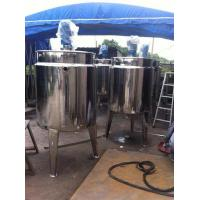 Quality 500L / 1000L / 1500L Inox Soy Sauce Stainless Fermentation Tank Equipment wholesale