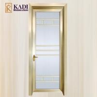 Cheap high quality aluminium interior doors with glass for Good quality interior doors