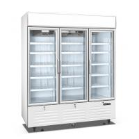Buy cheap Reach In Upright Display Bar Fridge With Glass Door , Self Contained Embraco Compressor from wholesalers
