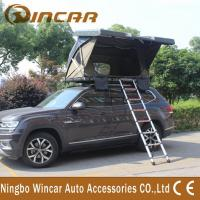 Quality Outside Auto Hard Shell Pop Up Roof Top Tent / Roof Mounted Suv Pop Up Tent wholesale