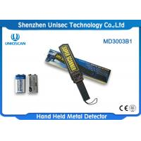 Quality Uniqscan Portable Hand Held Metal Detector MD3003B1 With ABS Housing Material wholesale