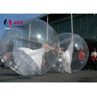 Quality Target Zip Bubble Ball Dance Hamster Ball For People , Inflatable Ball In Water Can Walk Inside wholesale