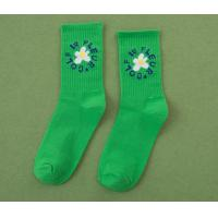 Quality Brightly Color Womens Comfy Socks , Womens Fun Socks Standard Thickness wholesale