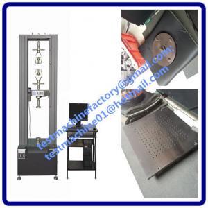 Quality 30kn computerized pressure testing machine for auto interiors decoration materials compres wholesale