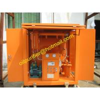 Quality Portable Cable Oil Purifying Unit, Oil Filtering Unit, Oil Cleaning Unit for Degasing , Dewatering, Impurities Removing wholesale