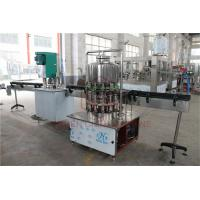 Quality Semi - Automatic 1L Drinking Liquid Water Bottle Filling Machine / Bottling Packing Line wholesale