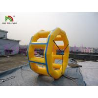China PVC Inflatable Water Toy , OEM / ODM Inflatable Running Water Circle For Water Park on sale