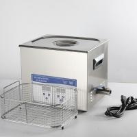 China Degassing Tattoo Tool Digital Heated Ultrasonic Cleaner 20L Quick Cleaning 150W on sale