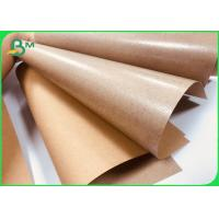 China Food Grade PE Coated Natural Virgin Kraft Paper for Paper plate 350gsm on sale