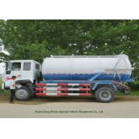 Quality 12000L Sewage Sucking Truck With Vacuum Pump , Sewer Cleaning Truck wholesale