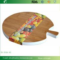 Quality TF281/ Pingpang Style Bamboo Wooden Snack Cutting Board Serving Tray Kitchen Sushi Plate wholesale