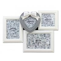 White color combination  picture photo frame wooden picture frame