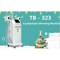 Quality 100kpa Five Handles Cryolipolysis RF Cavitation Machine For Cellulite Removal wholesale