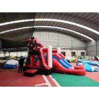 China Ironman Superhero Inflatable Bounce House Combo Durable Easy Installation on sale