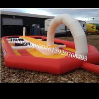 Quality Space Hopper Track Inflatable Games wholesale