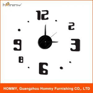 Quality EVA 3d wall clock plastic clock wholesale clock for home decor wholesale