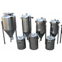 Cheap Common Diy SS Home Beer Making Equipment With Vacuum Relief Valve for sale
