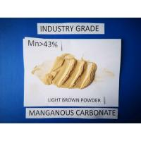 China Manganese Carbonate Powder industry grade  Raw Materials For Manganese Nitrate Salt on sale