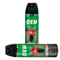 Quality Oil Based Insect Killer Spray , Insecticide Spray Mosquito Repellent Spray 400ml wholesale