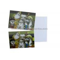 Quality Loverly Cartoon Kids 3D Lenticular Postcard 11x16cm 3d Changing Pictures wholesale
