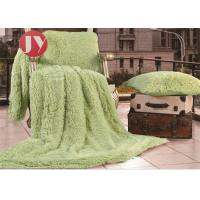Quality Decorative Long Haired Plush Fur Blanket Shaggy Soft Fuzzy Microfiber For Twin wholesale