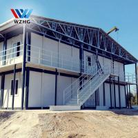 Quality Sandwich Panel Material and Hotel Use Prefab Container Home caming house wholesale
