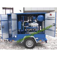 China Insulation Oil Purification Plant, Mobile Transformer Oil Filtration Machine for outside field transformer service on sale