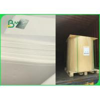 Quality 60gsm 70gsm 80gsm 120gsm Bleached White Kraft Paper Roll Food Safe FSC FDA EU ISO wholesale