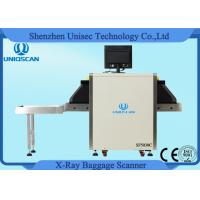 Quality Small Dual Energy X Ray Luggage Scanner 500*300mm Tunnel Baggage Scanner wholesale