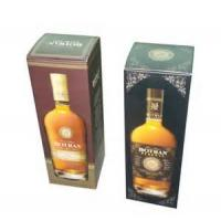 Quality Yellow 1.0mm Paper Board + Coated Paper + Silk Wine Packaging Boxes Stamping wholesale