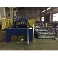 Quality Color Coating Coil Material PU Sandwich Panel Production Line Driven Power 7.5 KW wholesale