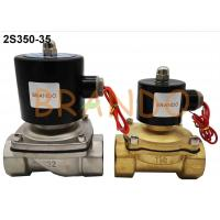 China G 1-1/4'' Internal Threaded Water Solenoid Valve 2S350-35 AC 220V / DC 24V on sale