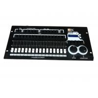 Quality Long Lifespan DMX Rgb Lighting Controller , Programmable Led Light Controller64 Dimmer wholesale