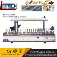 Cheap Plastic Windows / Articles / Profile Wrapping Machine Wrapping for sale