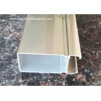 Quality 6m Normal length Aluminium Extrusion Profiles For Washroom Door wholesale