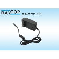 Quality US Plug 12V 2A Switching AC To DC Power Adapter 5.5x2.1mm Tip for CCTV Cameras wholesale