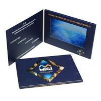 Quality High End 7 Inch Lcd Video Brochure , Custom Gift Greeting Cards 800*480 Pixels Resolution wholesale