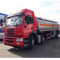 Quality 8*4 336hp 35CBM Diesel Oil Mobile Tanker Truck Aircraft Refueling Manual Transmission Type wholesale