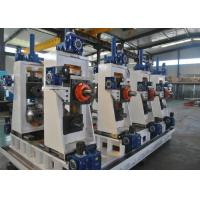 Quality Manual Or Automatic Welded Pipe Production Line / Industrial Tube Mills wholesale