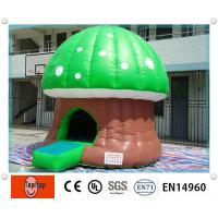 Quality Giant Mushroom Inflatable Jumping Castle Bouncy Castle For Kids wholesale
