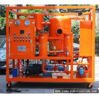 Quality Double Stage Vacuum Oil Purifier Machine 6000 Liters / Hour Insulation Oil Dehydration Machine wholesale