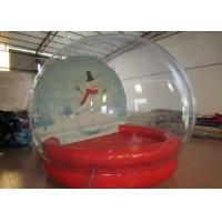 Quality Outdoor Inflatable Christmas Decorations Crystal Ball Airtight Dia3m Pvc Tarpaulin wholesale
