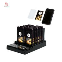 China 433.92MHZ  long range Wireless coaster pager system  with  10 pagers for restaurant,cafe,bar and so on on sale