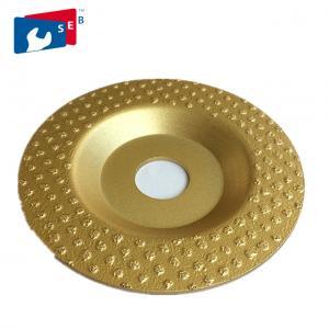 Quality Continuous Rim Diamond Cup Wheel , Economic Diamond Floor Grinding Disc wholesale