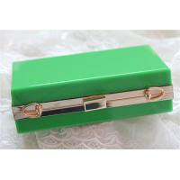 Quality Green lady acrylic makeup storage boxes Retangle With waterproof wholesale