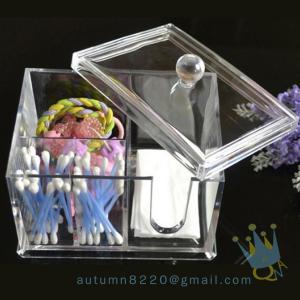 Quality acrylic makeup storage organizer with drawers wholesale
